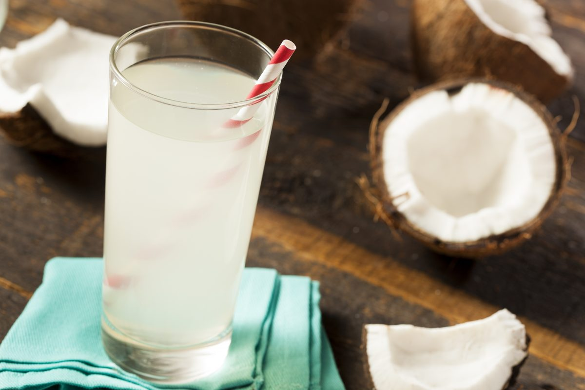 Coconut water low fodmap