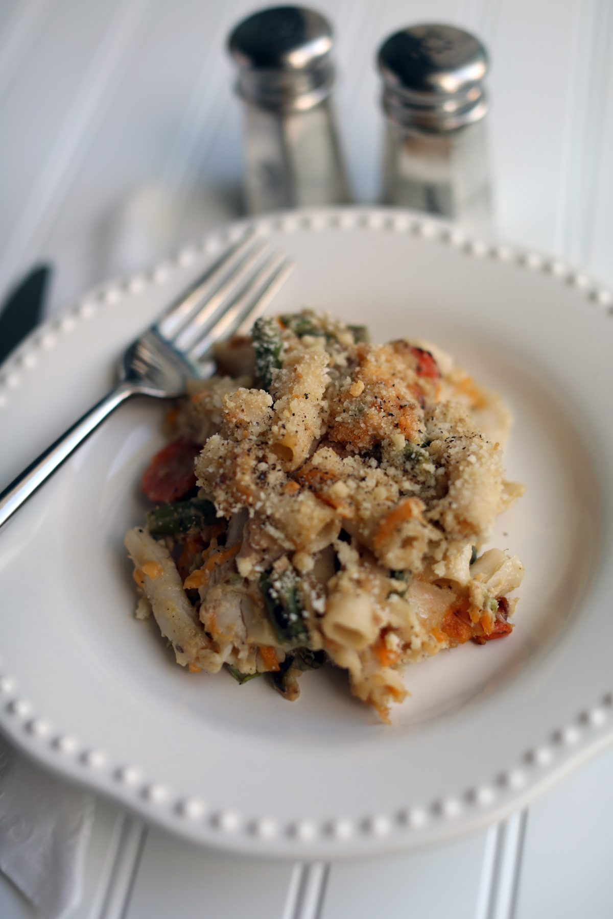 Low-FODMAP Tuna Casserole with Safe Catch Tuna