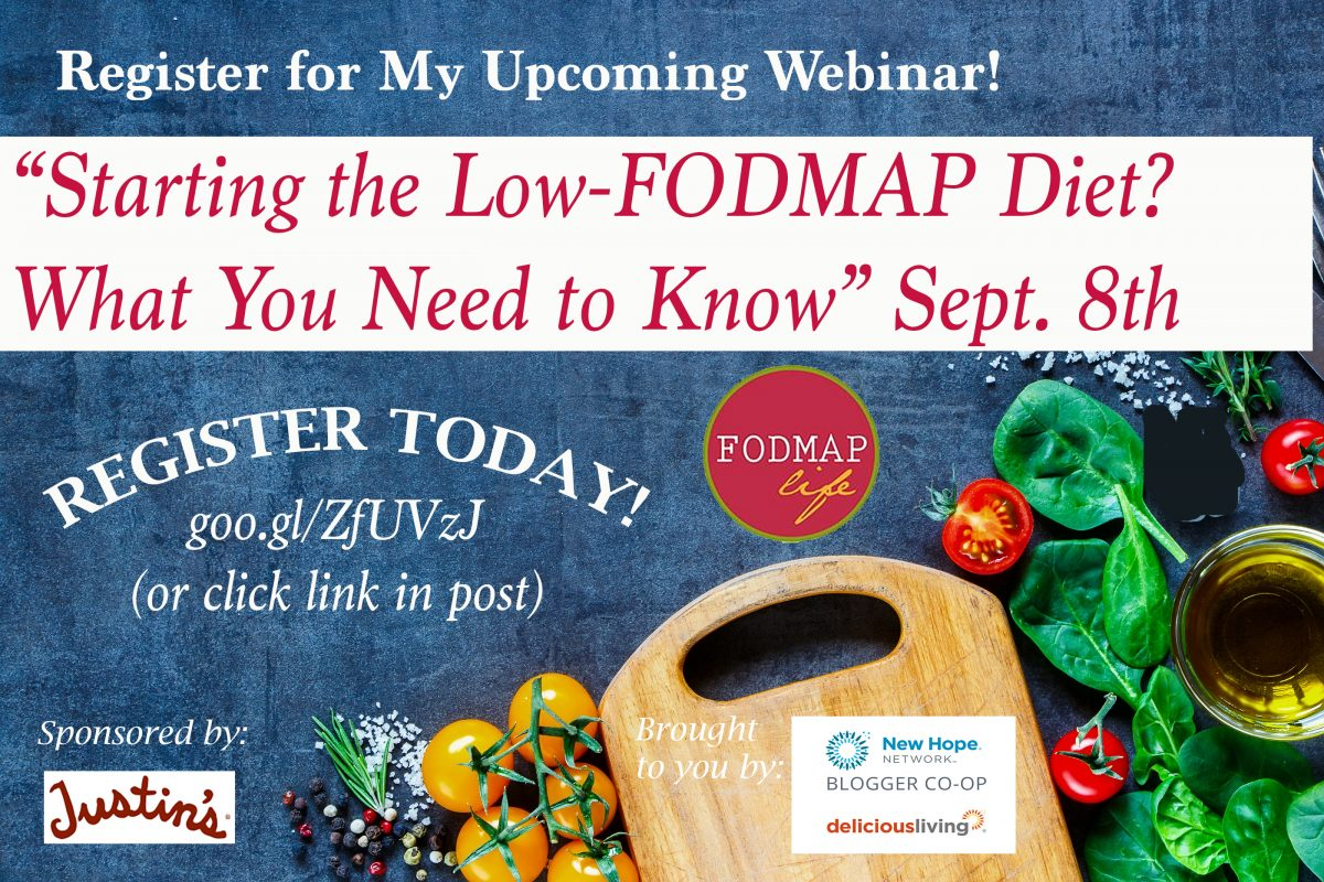 Free Webinar: Starting the Low-FODMAP Diet? What You Need to Know