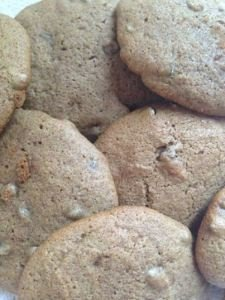 Organic, Vegan, Dairy-Free Low-FODMAP Chocolate Chip Cookies