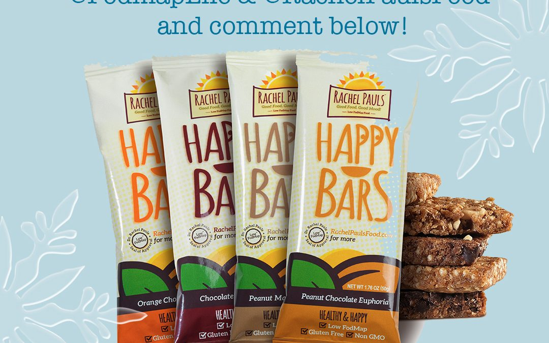 Low-FODMAP Happy Bars Review and Giveaway!