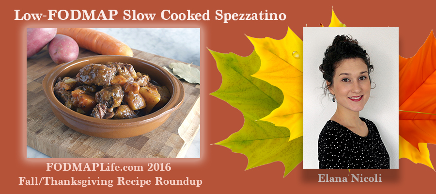 low fodmap spezzatino