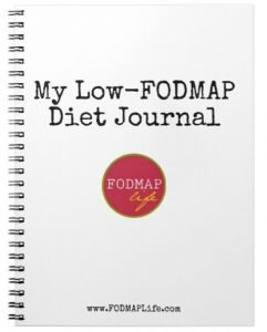 low fodmap diet journal