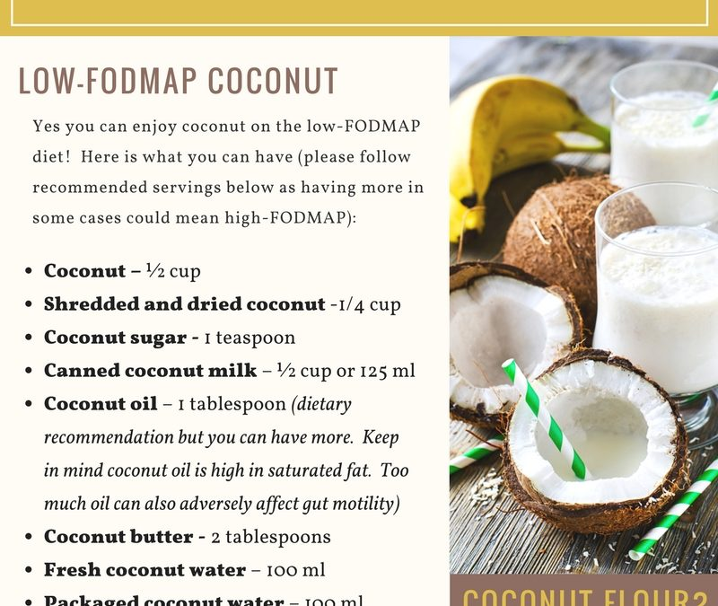 Is Coconut Low-FODMAP?