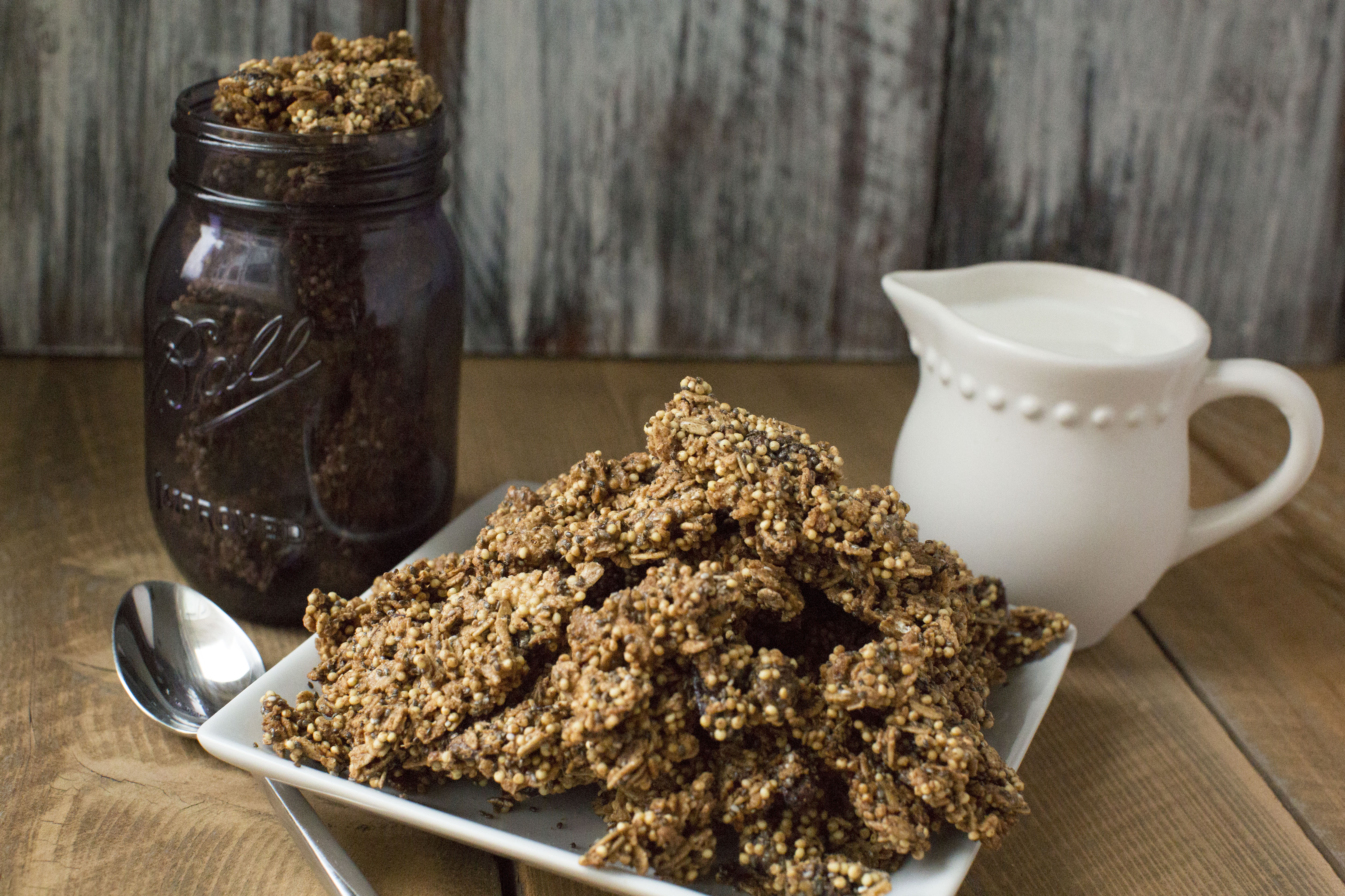 Low-FODMAP Millet Granola