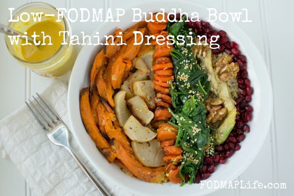 low fodmap buddha bowl