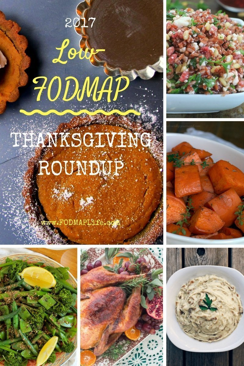 low fodmap thanksgiving