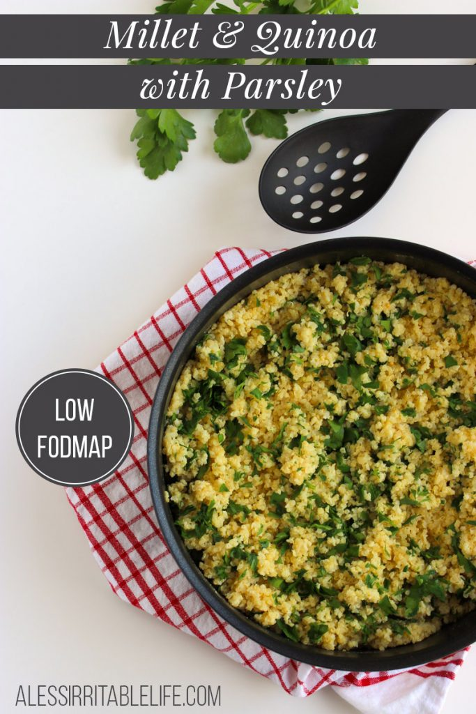 LOW FODMAP QUINOA