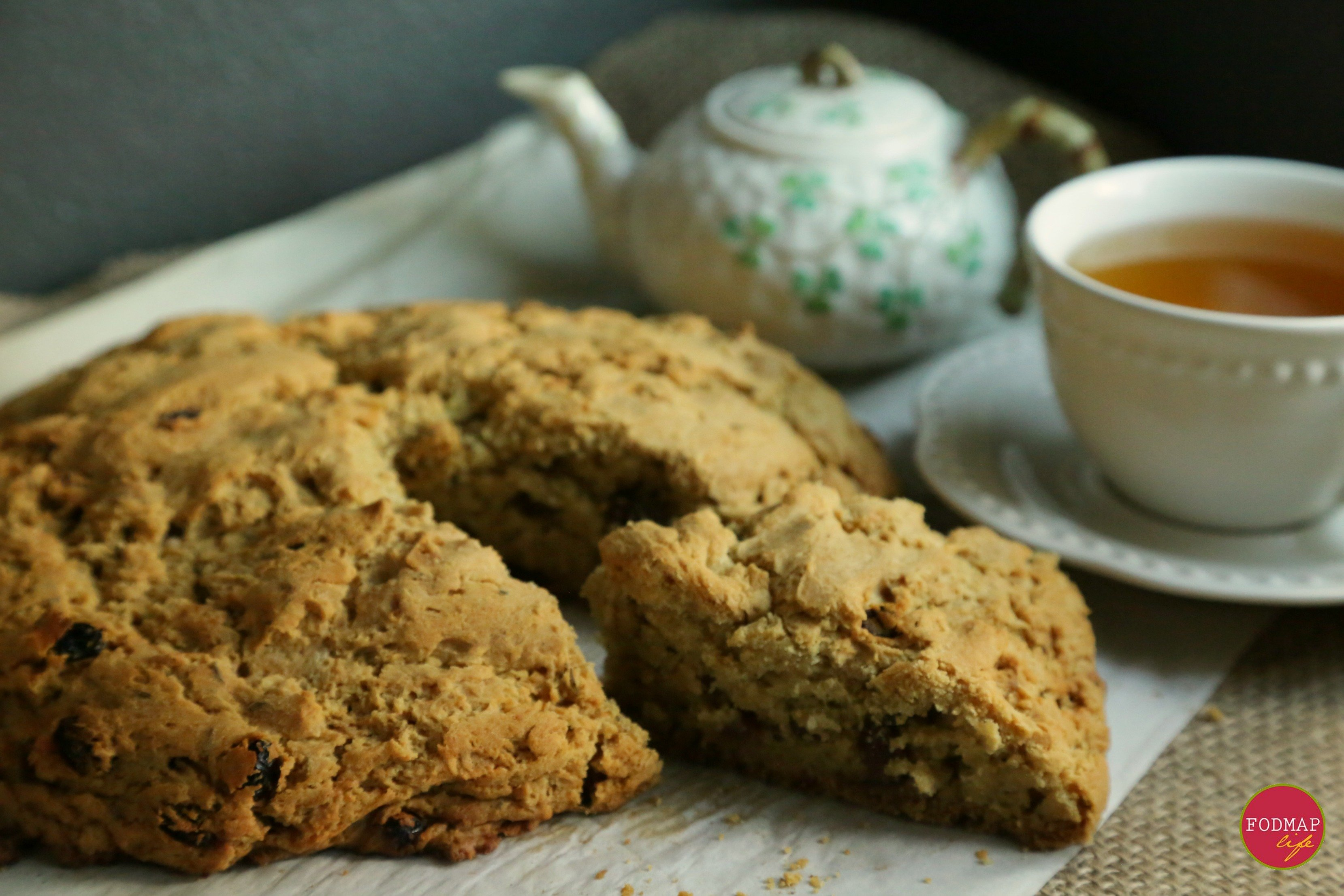 Low-FODMAP Irish Soda Bread - FODMAP Life