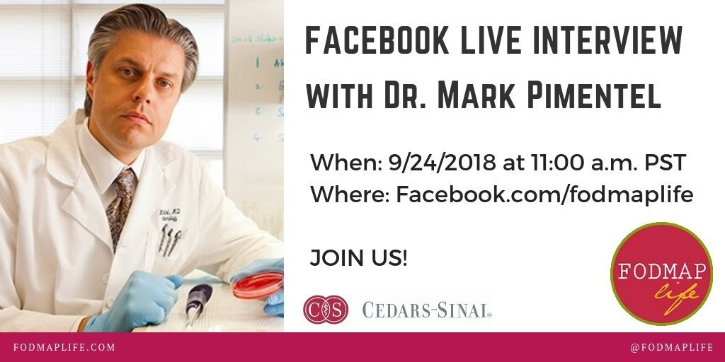 Facebook Live SIBO Chat with Dr. Pimentel September 24