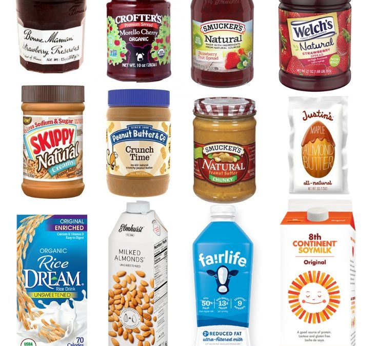Low- FODMAP Products – A Visual Guide (U.S.A., Australia, New Zealand)