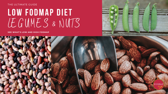 Low-FODMAP Servings for Legumes and Nuts