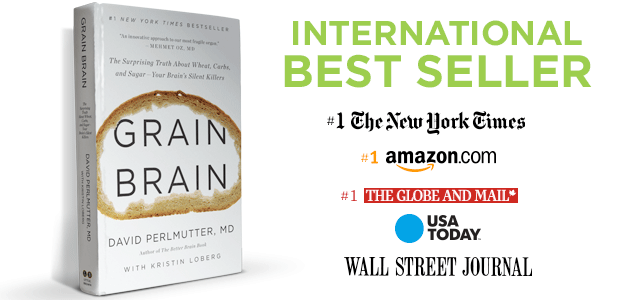 Grain Brain is one of the low-FODMAP diet books you must have in your shelf