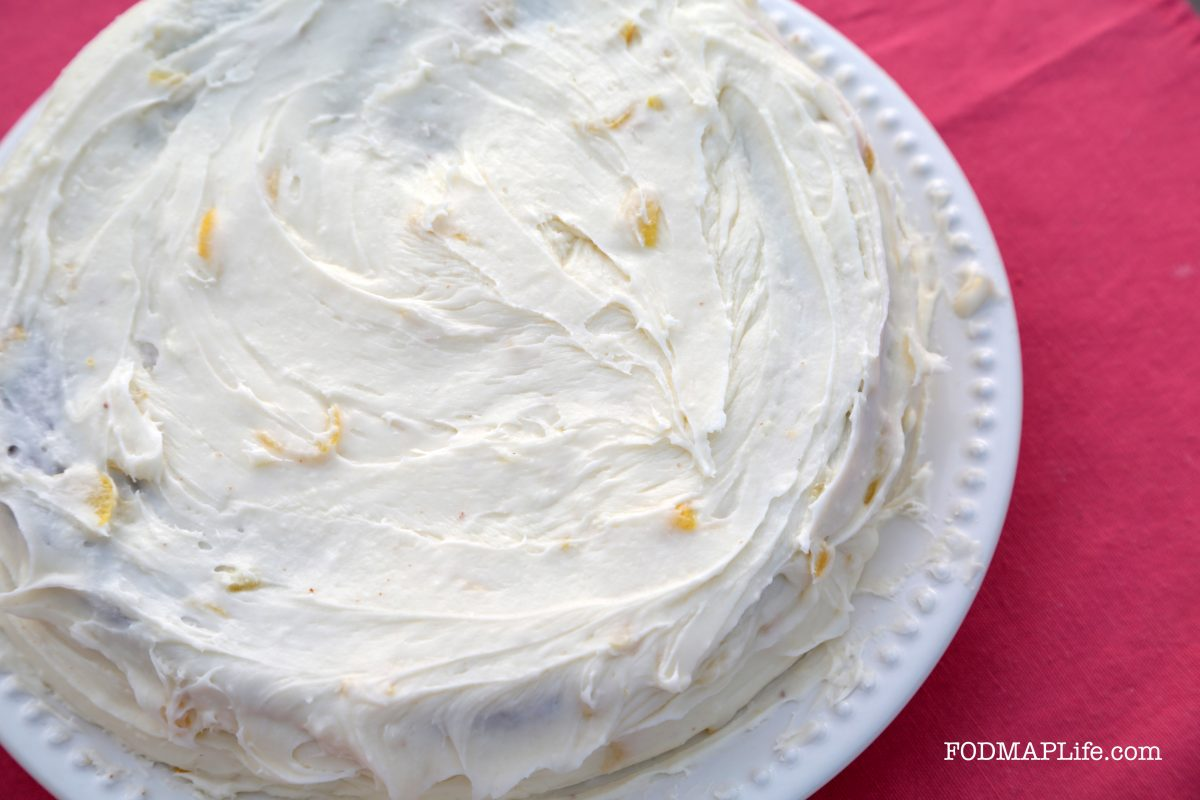 Happy Easter!  Low-FODMAP Carrot Cake Recipe