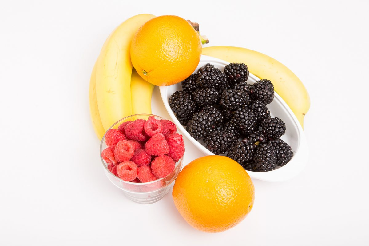 Oranges Raspberries Blackberries And Bananas are good fiber sources