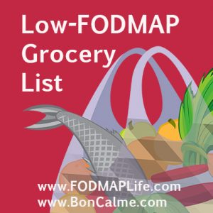 LowFODMAP Grocery List available on FODMAP Life