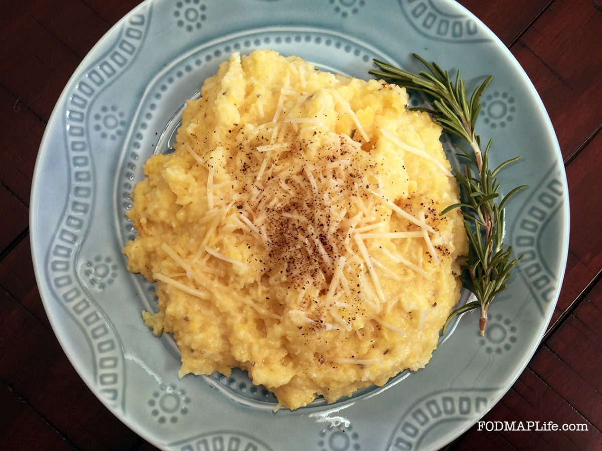 low fodmap rosemary polenta copy