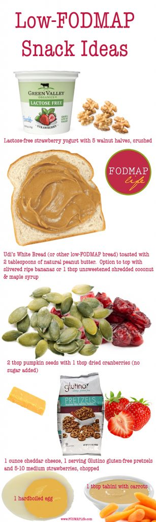 The Best Low-FODMAP Snack Ideas for you to Try!