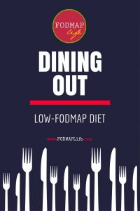 Dining Out Low-FODMAP diet book