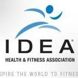 Idea health & fitness association logo