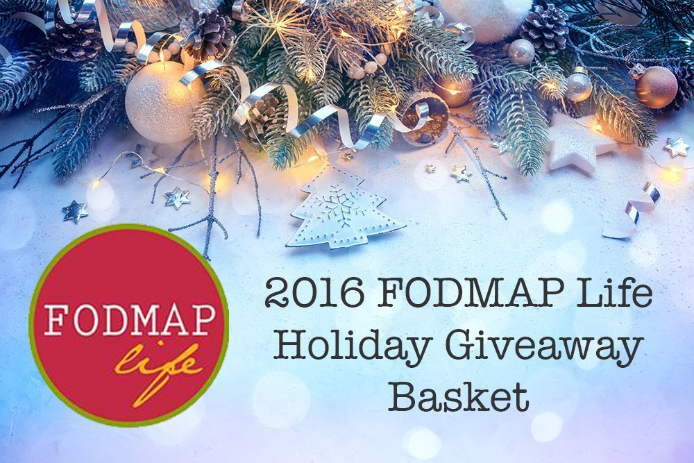 2016 Holiday FODMAP Life Gift Guide and Giveaway!