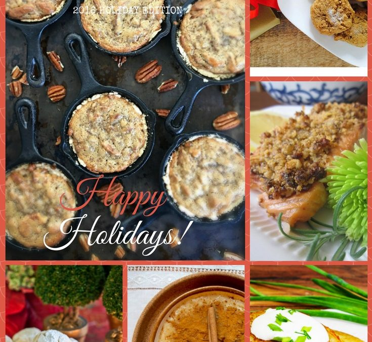 2016 FODMAP Life Holiday Recipe Roundup