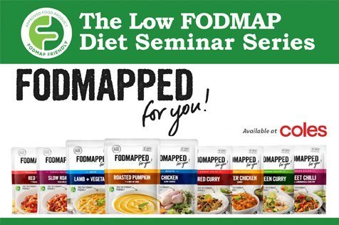 The Low FODMAP Diet Seminar Series in Sydney and Brisbane