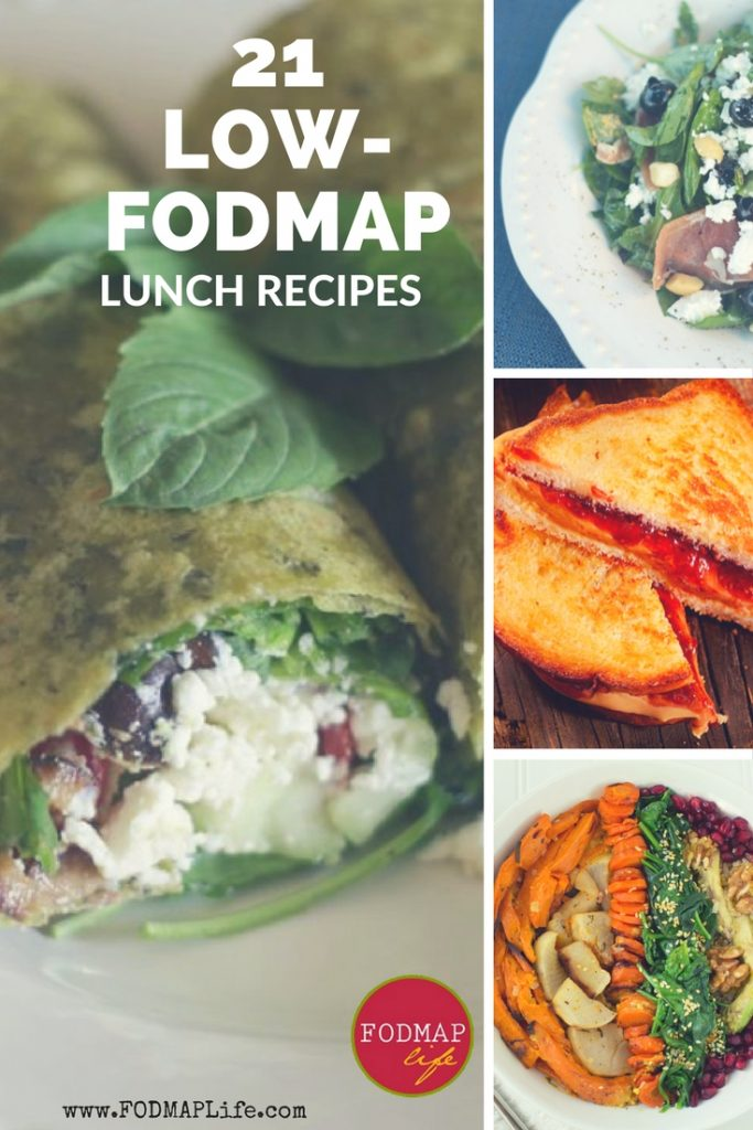21 Easy Low-Fodmap lunch recipes