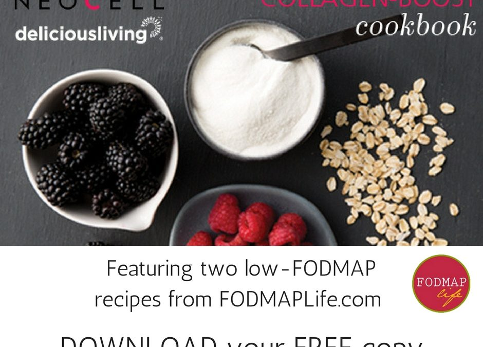 FODMAPLife Featured in NEW Collagen Recipe Book
