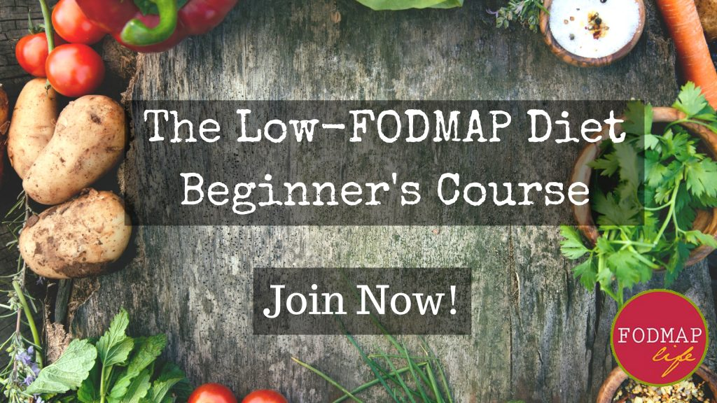 Join The Low-FODMAP Diet Beginner's Course