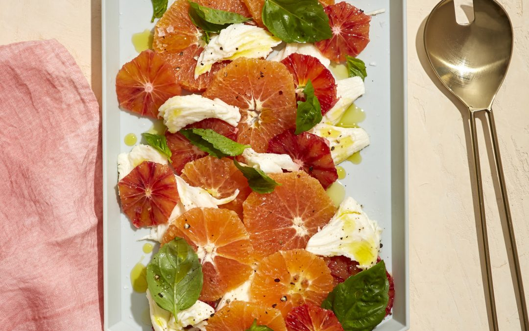 Low-FODMAP Orange Mozzarella Salad
