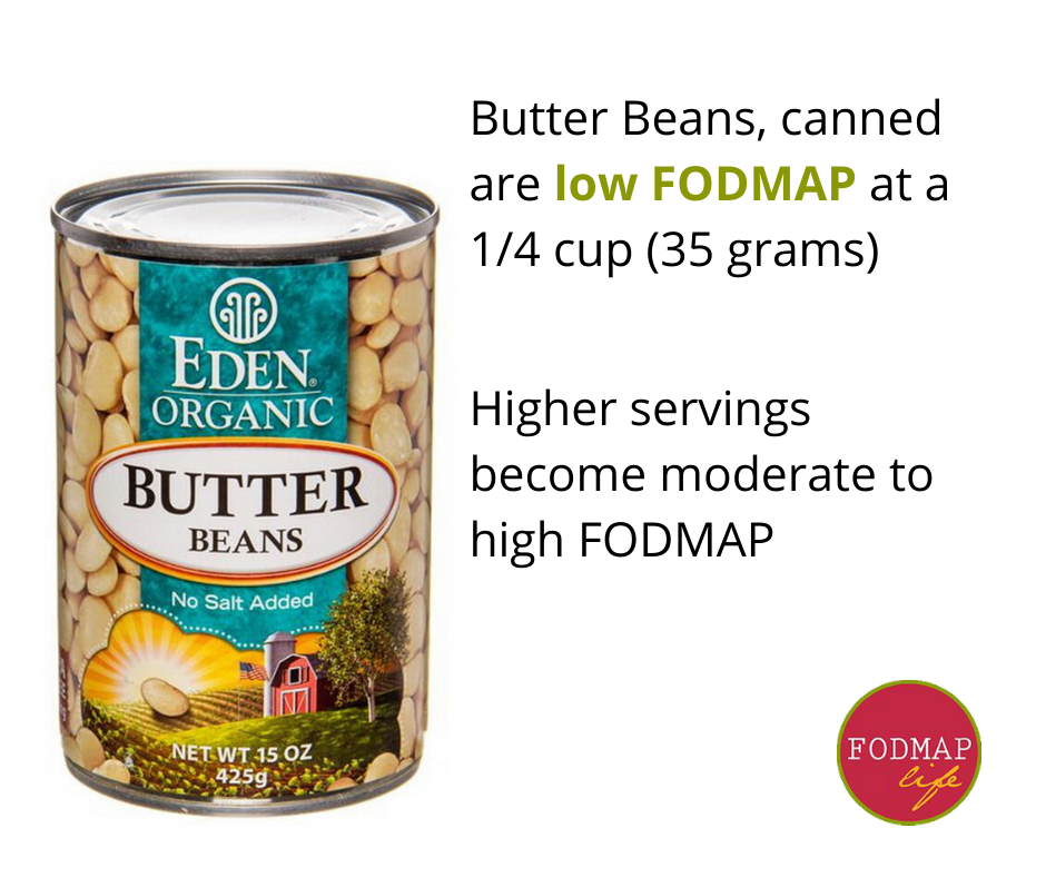 butter beans low fodmap