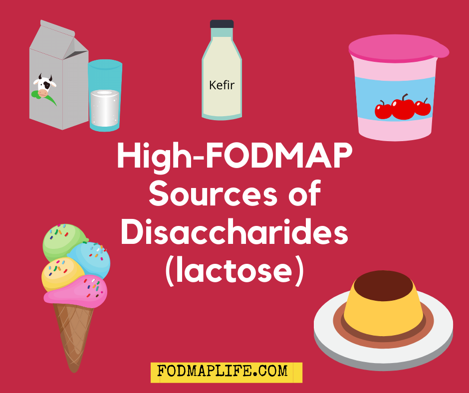 high fodmap lactose