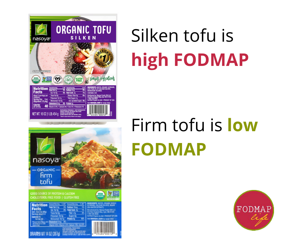 silken tofu high fodmap